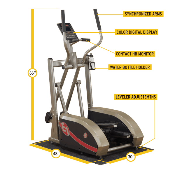 BFE1 Elliptical FEATURES