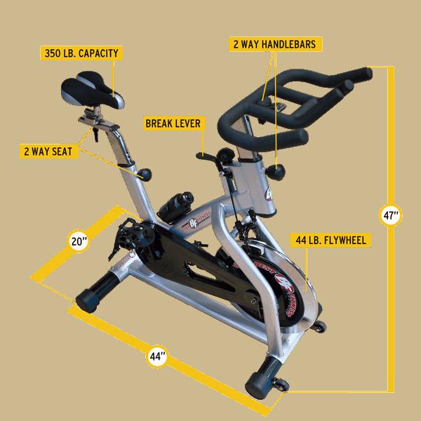 BFSB10 Exercise Bike TECHSPECS