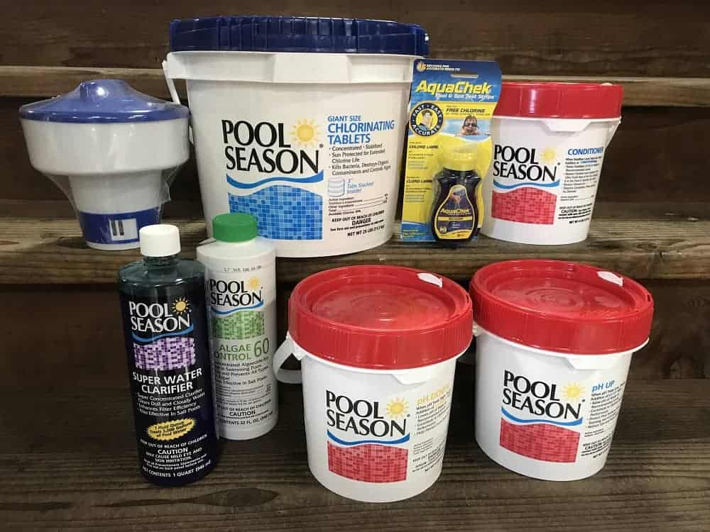 Pool Cleaning Chemicals in Milwaukee