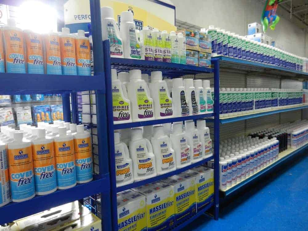 Pool Chemicals at Baker Pool & Fitness