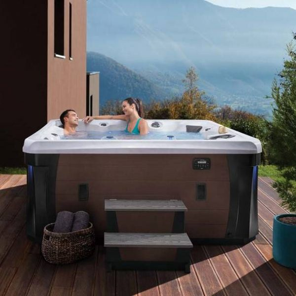Hot Tub Outside on Deck