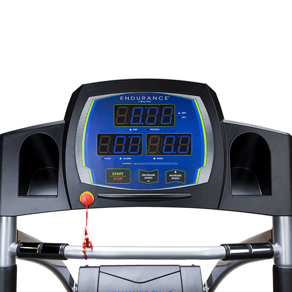 Body Solid T50 Treadmill Console