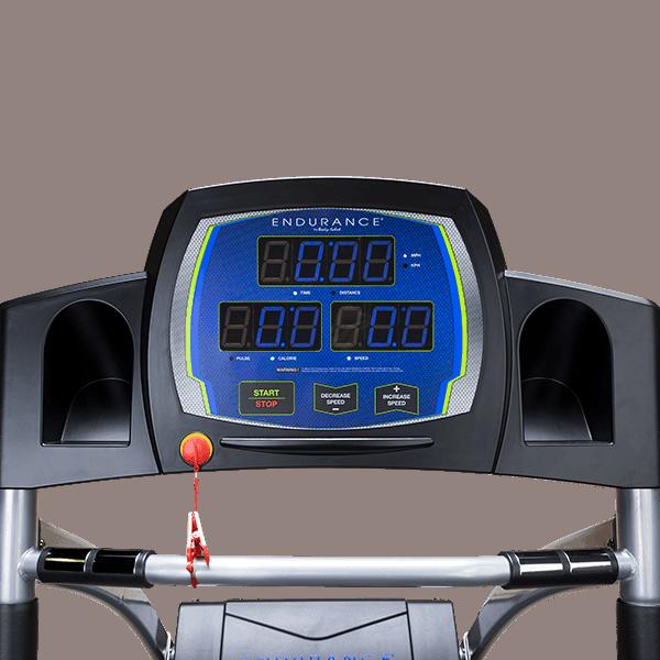 Body Solid T50 Treadmill Console