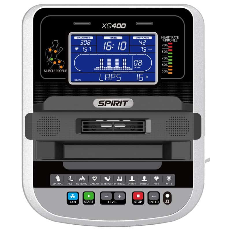 Spirit XG400 Elliptical