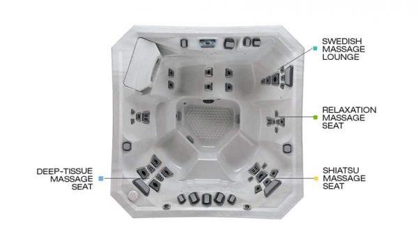 V84L Hot Tub Seats