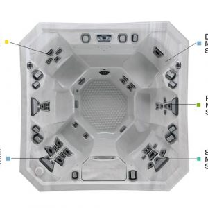 The V84 Hot Tub (6 Person Hot Tub – 37 Jets)