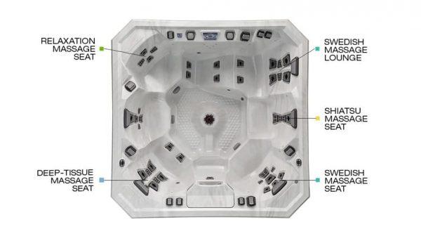 V94L Hot Tub Seats