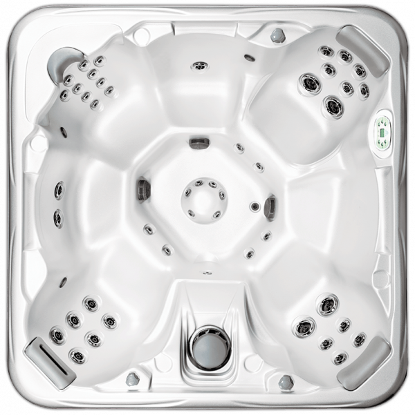 The 748B Deluxe Hot Tub